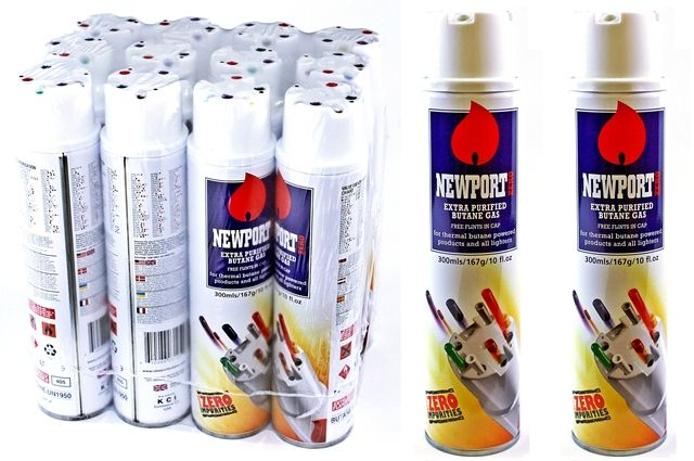 Newport Butane - Recommended by The UKCSC's