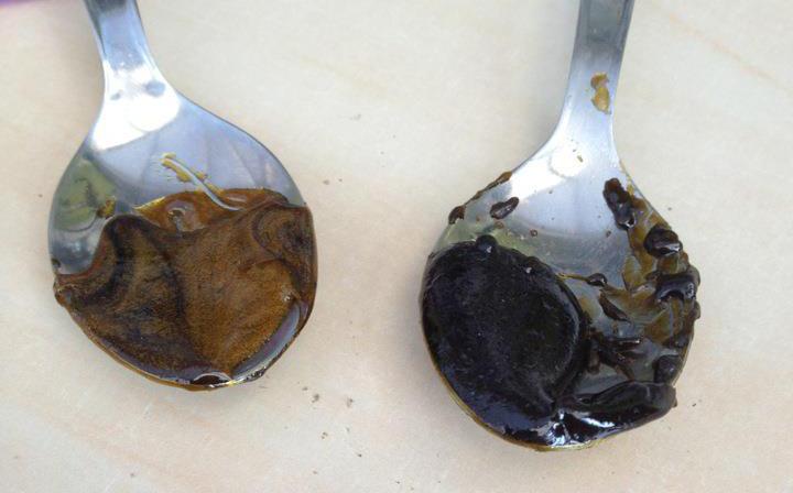 Unpurged Oil