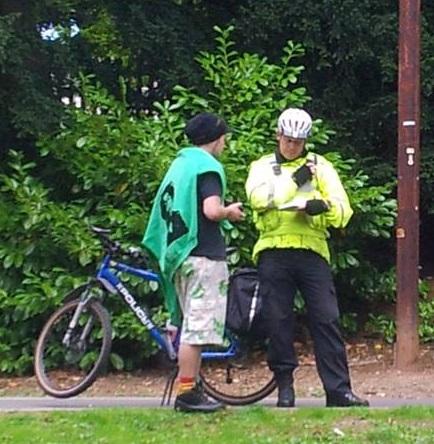 Police talk