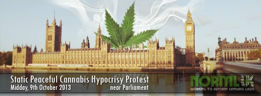 Hpocrisy Protest Banner