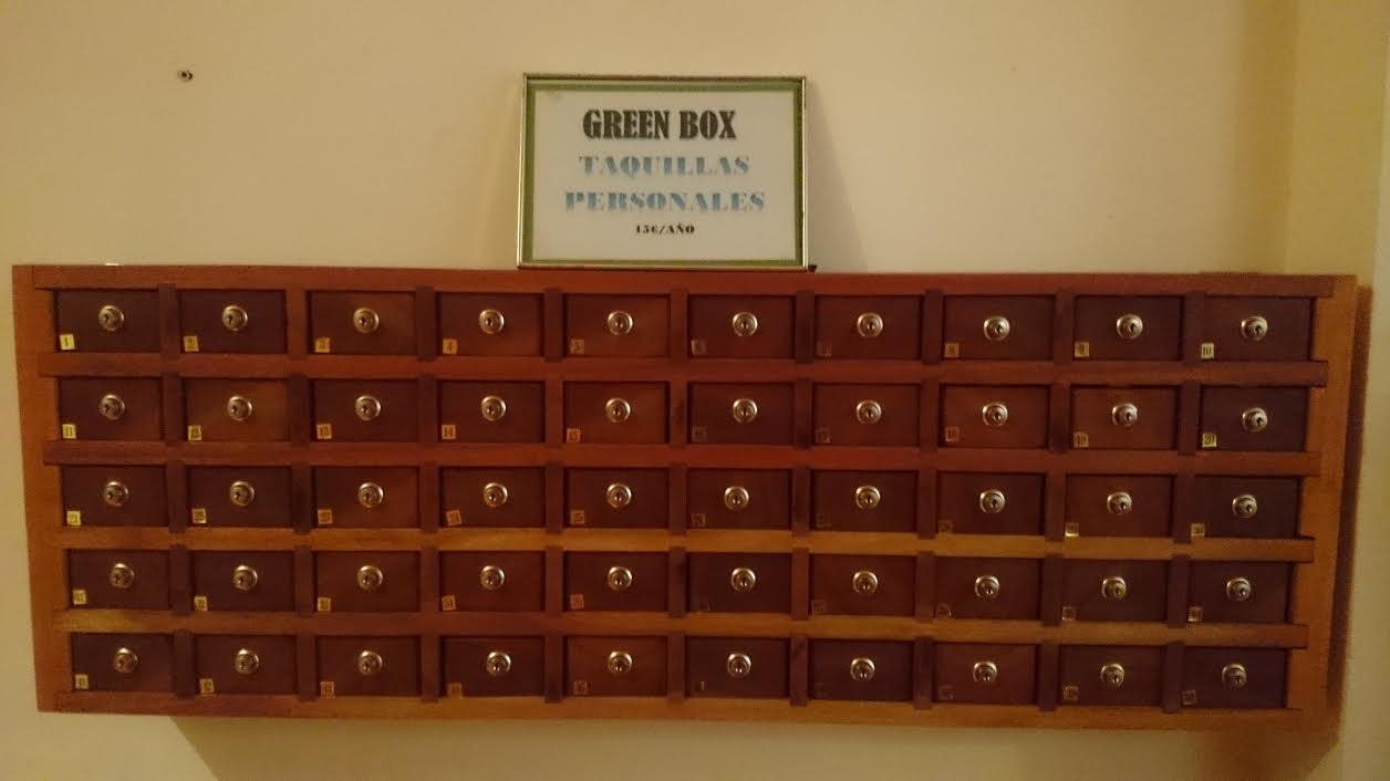 Resin Lock Box