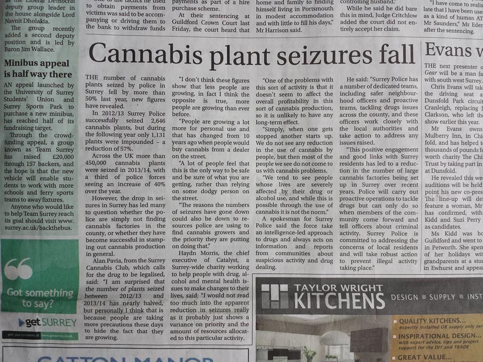 Surrey Cannabis Comment