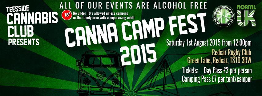 Canna camp fest
