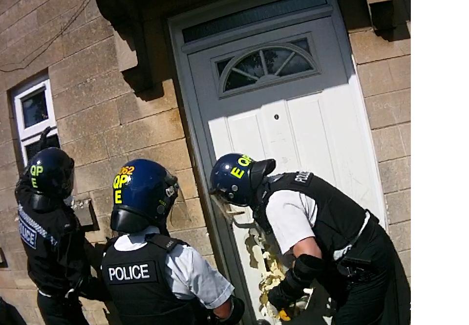 Avon Somerset Woman Door Smash Hash