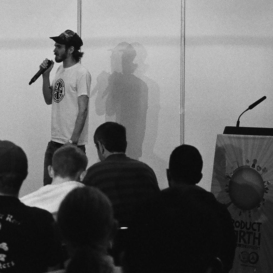 Greg speaking