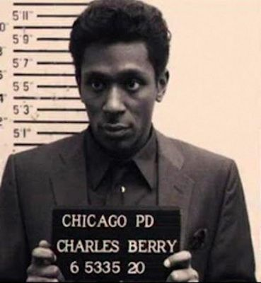 Chuck Berry Mug Shot