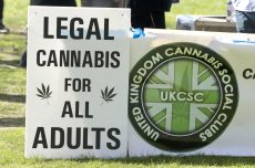 UKCSC Legal Cannabi Sign