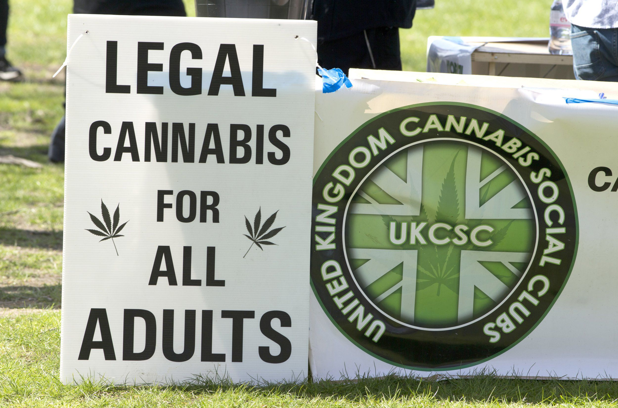 UKCSC Legal Cannabi Sign
