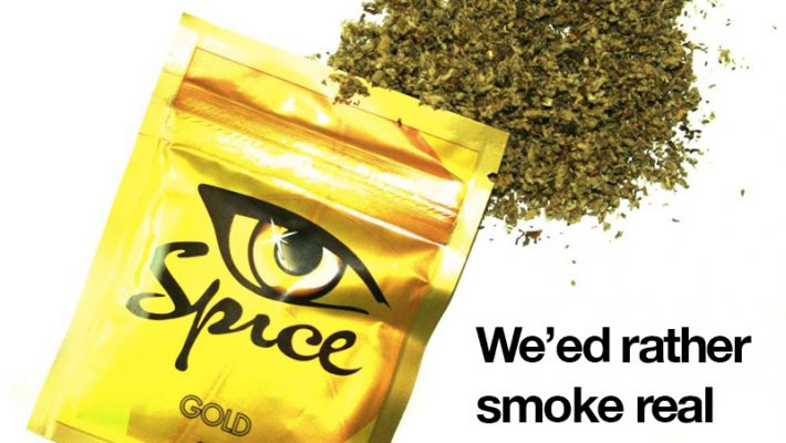 Synthetic spice vs cannabis