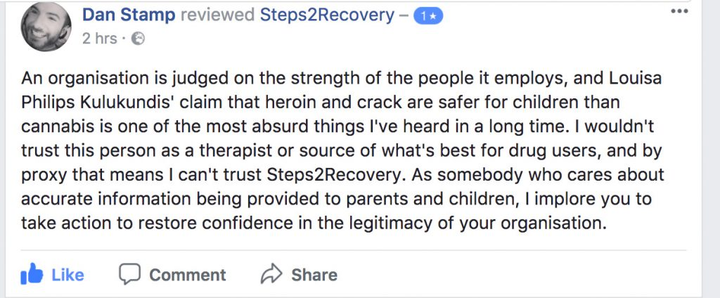 Steps2recovery drug rehabilitation comment